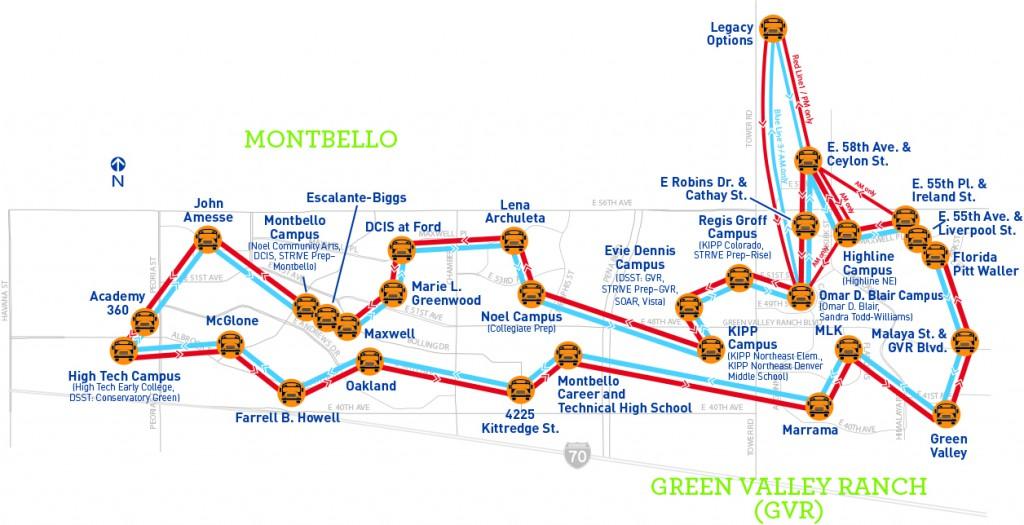 Success Express Bus Route